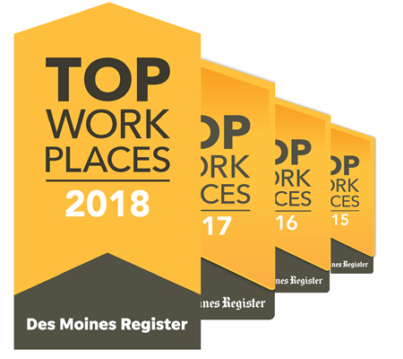 Image of Top Workplaces Logo