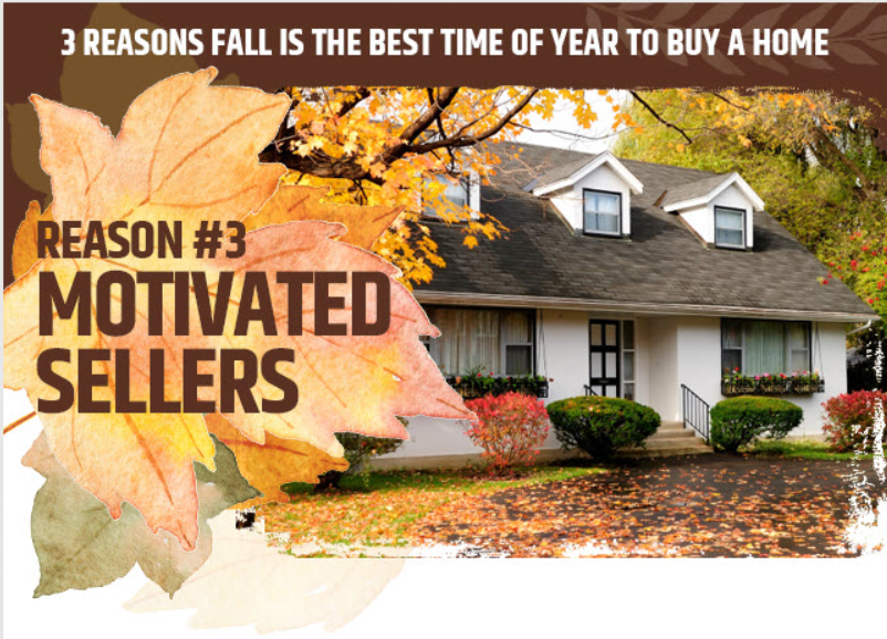 reason #3 motivated sellers