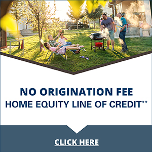 No Origination Fee Home Equity Line of Credit**