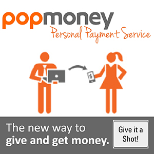 Popmoney personal payment service click for more information