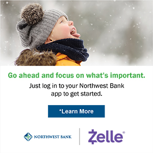 Go ahead and focus on what's important. just log in to your Northwest Bank app and get started