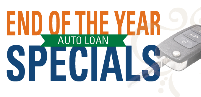end of the year auto loan specials
