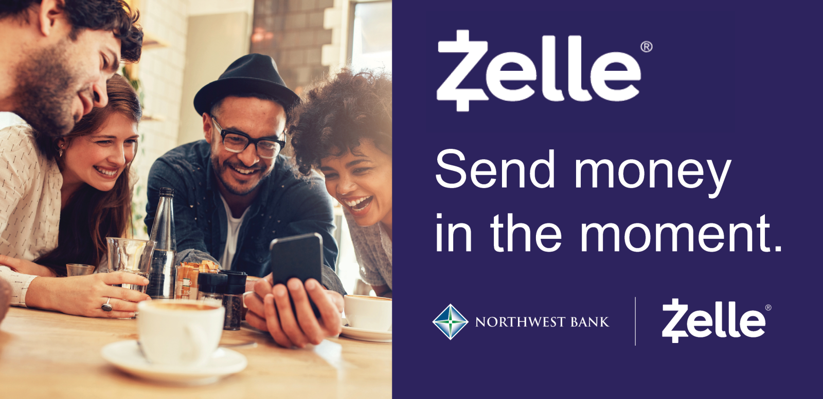 Image of Zelle: Send money int he moment with Zelle