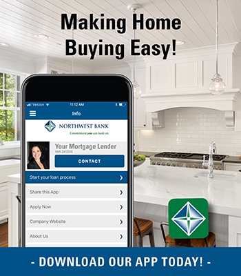 Image of a button a smartphone stating making home buying easy! Download the app today!