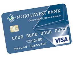 Image of Northwest Bank Debit Card