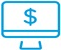 image of a computer screen with a dollar sign icon