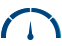 dark blue credit score rating scale icon