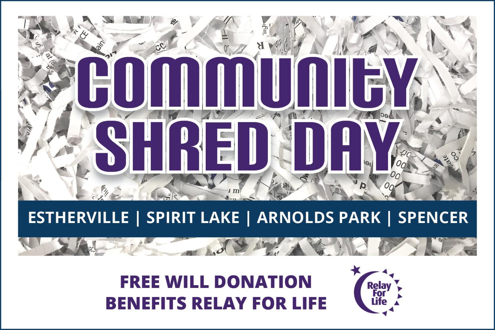 Community Shred Day - Community Shred Day - Northwest Bank