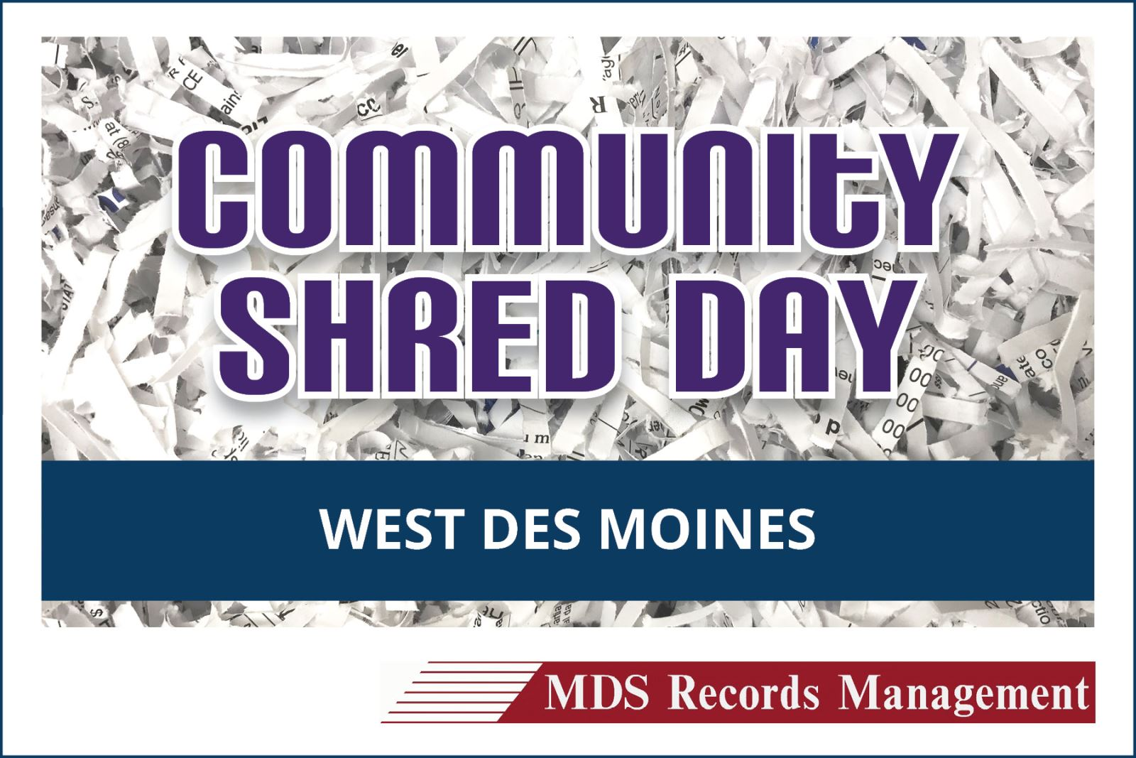 Shred Day | West Des Moines, IA