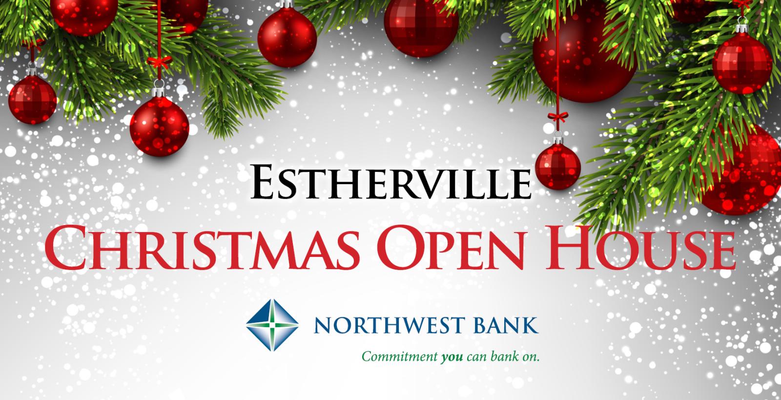 Christmas Open House.Estherville Christmas Open House Estherville Christmas