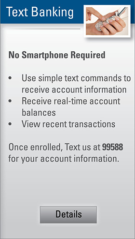 mobile banking text
