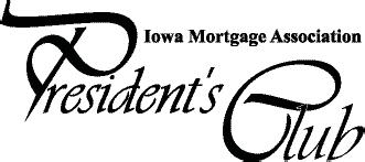 Image of the Iowa Mortgage Association Presidents Club logo