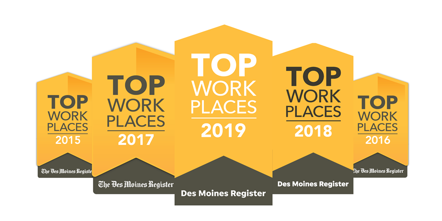 Image of Top Workplaces Logos