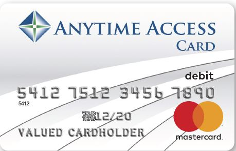 Image of our anytime access card