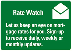 Image of a button to sign up for rate watch