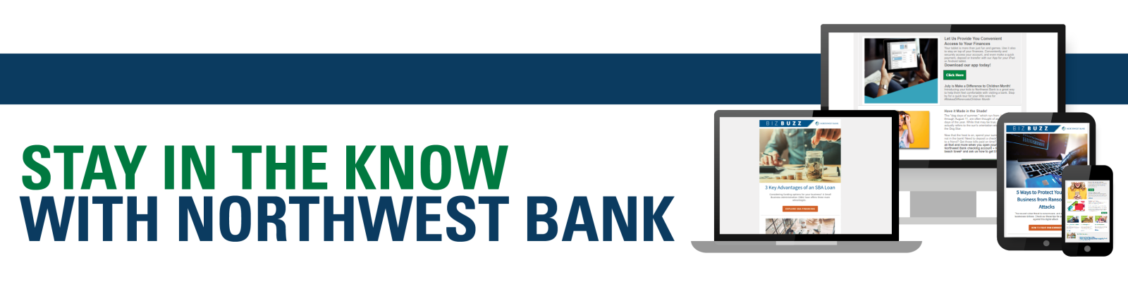 Stay in the Know with Northwest Bank